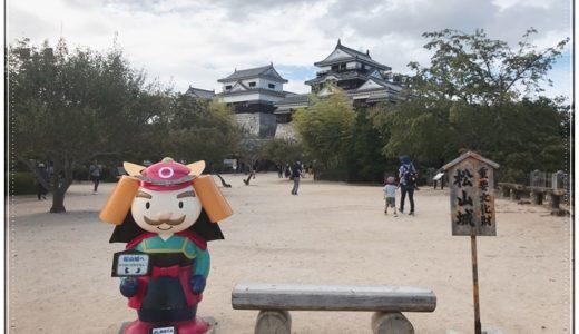 【愛媛】「現存12天守」松山城はどこから見ても美しい!