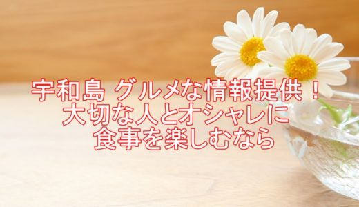 宇和島 グルメな情報提供!大切な人とオシャレに食事を楽しむなら